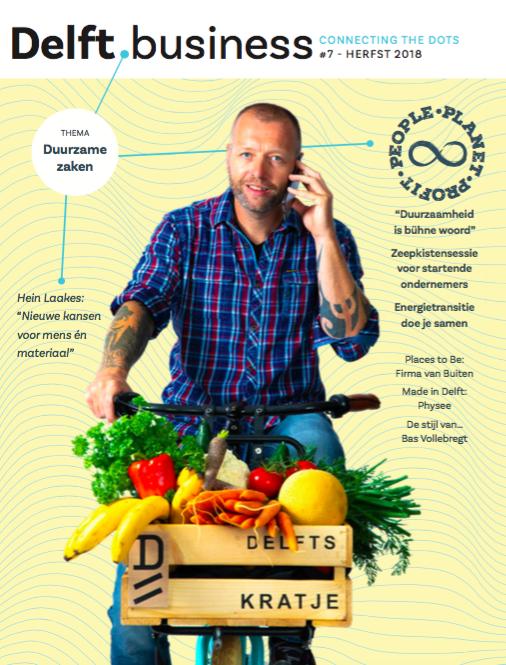 Cover van Delft.business editie 7