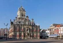 Het stadhuis van Delft