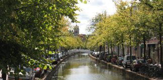 water in Delft
