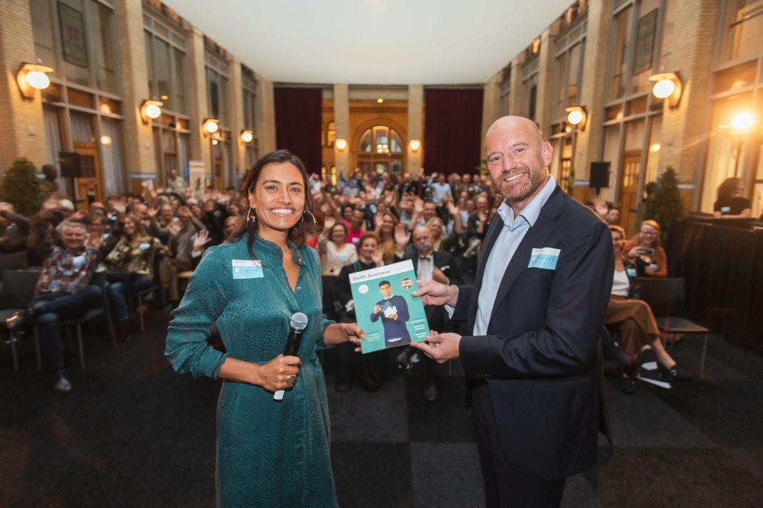 Foto van de lancering Delft.business #11