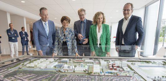 Overzicht Biotech Campus Delft