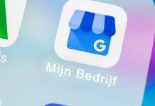 Google Mijn Bedrijf app, zo zit dat