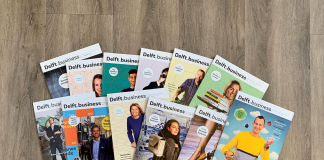 Delft.business magazine #13 wordt gewoon verspreid