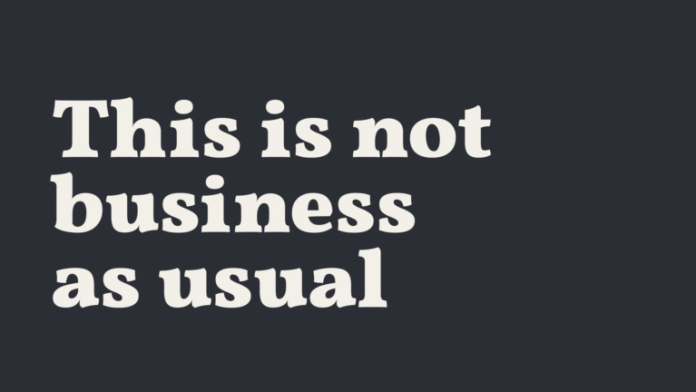 Business as usual?