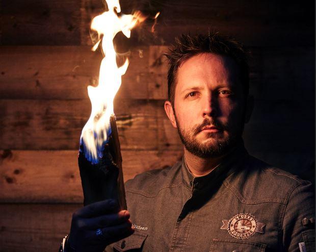 Foto van Jord Althuizen, eigenaar van onder andere Smokey Goodness
