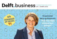 Dit is de cover van Delft.business editie 14
