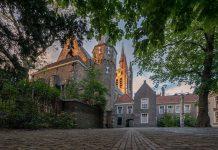 Foto van het gebouw van Museum Prinsenhof Delft