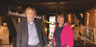 Foto van Charles en Nicole Wauters, eigenaren restaurant De Waag in Delft