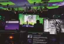 Behind the scenes bij Improve congres