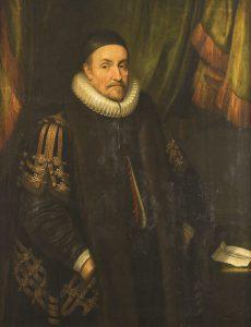 Een portret van Prins Willem van Oranje