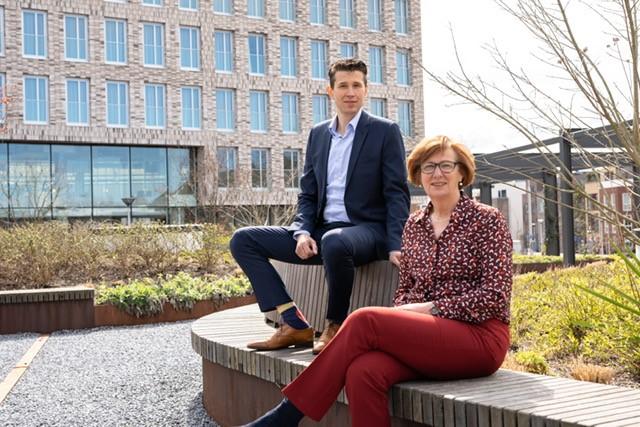 Accountmanagers Monique en Andrew