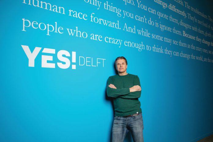 Een foto van Evert Jaap Lugt, directeur van YES!Delft